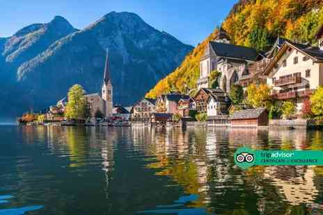 Via Holiday - Four Star Two nights Hallstatt, Austria getaway with breakfast and return flights - Save 23%