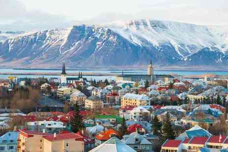 Weekender Breaks - Two nights Iceland mini break with a Northern Lights tour and return flights - Save 21%