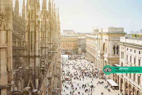 Via Holiday - Two nights Milan break with breakfast and return flights - Save 46%
