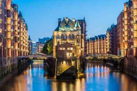 Crystal Travel - Berlin and Hamburg getaway with train between cities and return flights - Save 39%