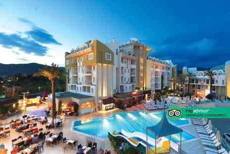Via Holiday - Four nights all inclusive Marmaris holiday with return flights - Save 23%