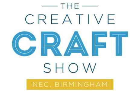 The Creative Craft Show - Two adult tickets from 28th June To 29th September - Save 38%