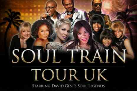 Soul Train UK Tour - One ticket from 4th May - Save 35%