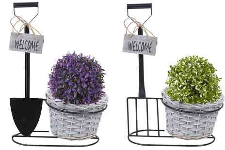 Groupon Goods Global GmbH - Novelty Plant Pot Holder - Save 60%