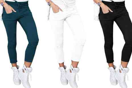 Groupon Goods Global GmbH - Stretch Slim Pants - Save 0%