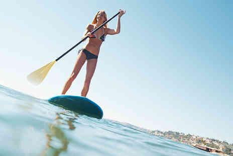 Love 2 Stay - Paddleboarding and pizza experience for one - Save 37%