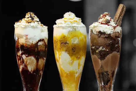 At Pizza - Choice of gelato sundae each for two people - Save 50%