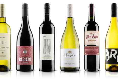 Virgin Wines - Six bottles of wine Choose red or mixed case With exc P&P - Save 61%