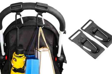Groupon Goods Global GmbH - One or two Pairs of Buggy Clips - Save 50%