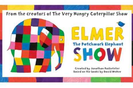 Elmer the Patchwork Elephant - Best available ticket from 28th To 31st May - Save 33%