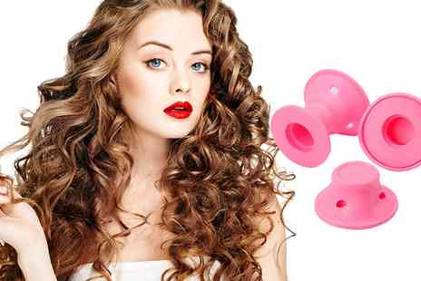 Groupon Goods Global GmbH - One, Two or Three Sets of Magic Hair Curlers - Save 0%