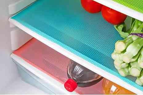 Groupon Goods Global GmbH - Three, Six or Nine Anti Bacterial Refrigerator Mats - Save 48%