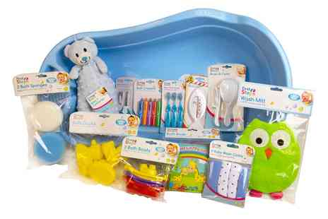 Groupon Goods Global GmbH - First Steps Bath Time Essentials Set  - Save 0%