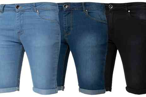 Groupon Goods Global GmbH - Kruze Jeans Mens Shorts - Save 0%