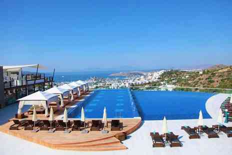 Grand Yazici Bodrum Hotel & Spa - Five star Exceptional Aegean Views with Infinity Pools for two - Save 46%