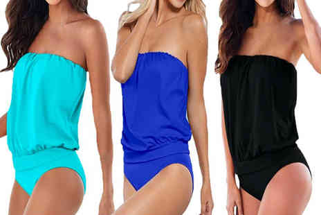Boni Caro - Strapless swimsuit choose from three colours - Save 72%