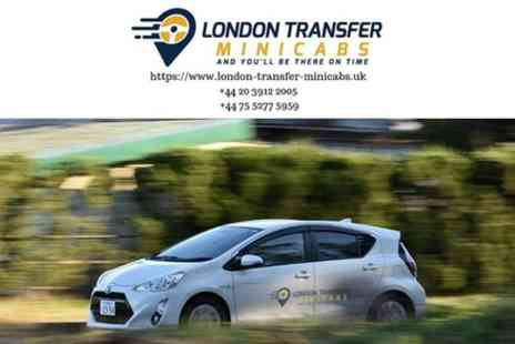 London Transfer Minicabs - Luton Airport to London Private Transfer - Save 0%