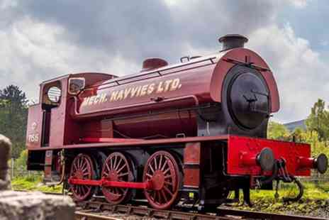 Pontypool and Blaenavon Railway - Steam Train Tickets for Two Adults or Family - Save 33%