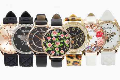 Groupon Goods Global GmbH - Elizabeth or Lucy K Womens Fashion Watch - Save 0%