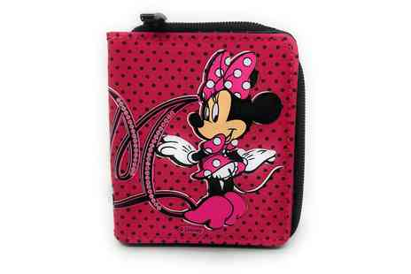 Groupon Goods Global GmbH - Disney Minnie Mouse Zip Wallet - Save 0%