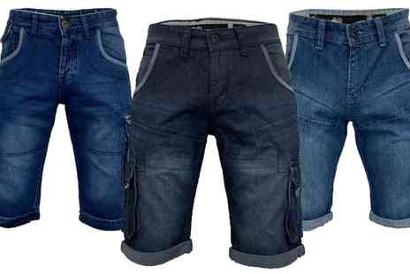 Groupon Goods Global GmbH - Crosshatch Mens Gaston or Newberg Shorts - Save 0%