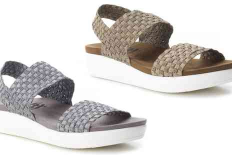 Groupon Goods Global GmbH - XTI Womens Elastic Flat Sandals - Save 0%