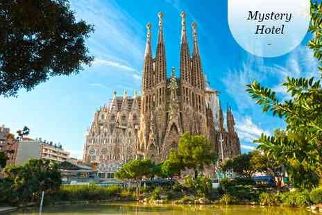 Mystery Hotel - Four star Modern Design near La Sagrada Familia for two - Save 80%