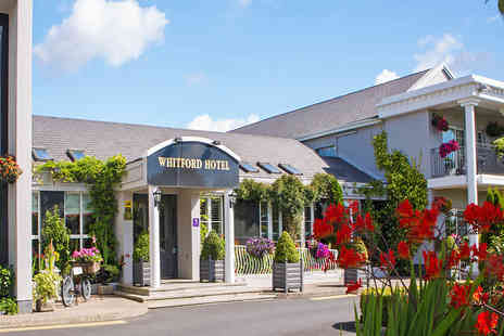 Whitford House Hotel - Overnight Wexford stay for two people with breakfast, leisure access, spa credit towards a massage, late checkout and glass of wine on arrival - Save 22%