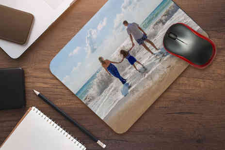 Personalised Gifts Market - Personalised photo mouse pad - Save 77%