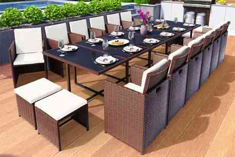 Viron Motors - 15 piece rattan set - Save 52%
