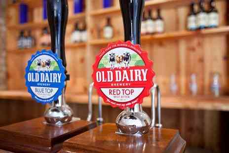 Old Dairy Brewer - Brewery tour and tasting for two - Save 40%