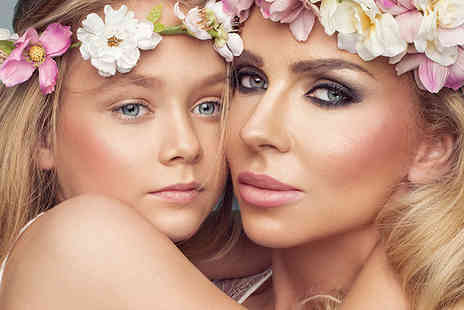 Flawless Studios - Mother and daughter makeover photoshoot using MAC products with two 7 Inch x 5 Inch prints, Prosecco, a £50 gift voucher and chocolates - Save 82%