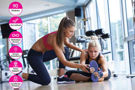 Alpha Academy - Online level 3 diploma in personal training and fitness - Save 94%