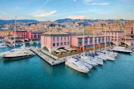 Nh Collection Genova Marina - Four Star Elegant Hotel with Picturesque Harbour Views for two - Save 63%