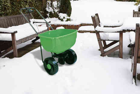 Who Needs Shops - Heavy duty 35kg capacity grit spreader - Save 0%