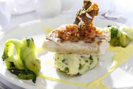 The Channel View Restaurant - Two Course Meal for Two or Four - Save 46%
