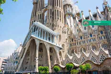 Crystal Travel - Two nights Barcelona city break with return flights - Save 56%