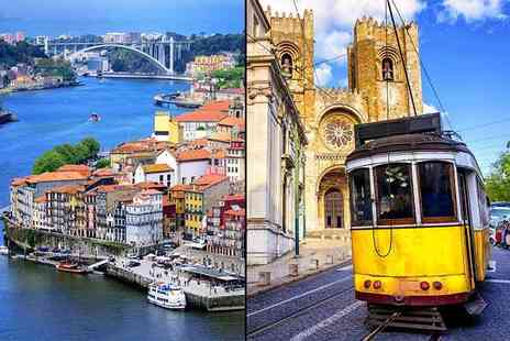 Crystal Travel - Four nights Lisbon and Porto city break with all flights - Save 33%