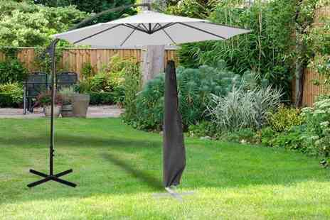 Groundlevel - Extra large waterproof banana parasol cover - Save 73%