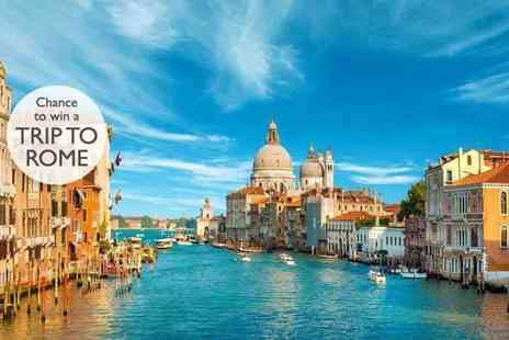 Weekender Breaks - Four Star Two nights Venice stay with return flights and a chance to win a Rome trip - Save 41%