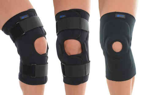 Sole Control - Open patella knee support or Heavy duty knee support choose from four sizes - Save 50%