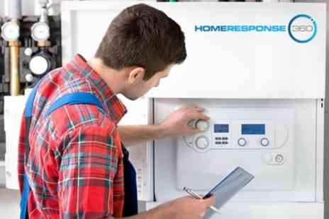 Home Response 360 - Annual Boiler Service, Health Check and CP12 Certificate - Save 53%