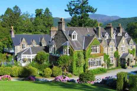 Penmaenuchaf Hall Hotel - 1 or 2 Nights for Two with Breakfast and Glass of Sparkling Wine - Save 24%