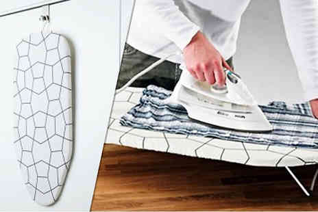 Fusion - Foldable Table Top Mini Ironing Board with Cover - Save 68%