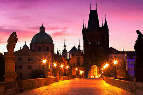 Worldwide Tours and Travel - Four Star 2 To 3 Nights Hotel Stay With Flights and Vltava River Cruise - Save 0%
