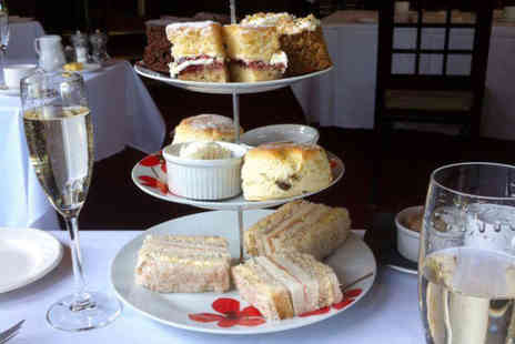 The Mere Court Hotel - Traditional afternoon tea for two people with glass of Prosecco each - Save 37%
