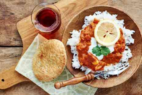Mayas Restaurant and Bar - Two Course Indian Meal with Plain Rice or Naan and Drink for Two or Four - Save 46%