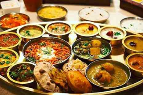 Swagath - Two Course Meal with Rice or Naan for Two or Four - Save 34%