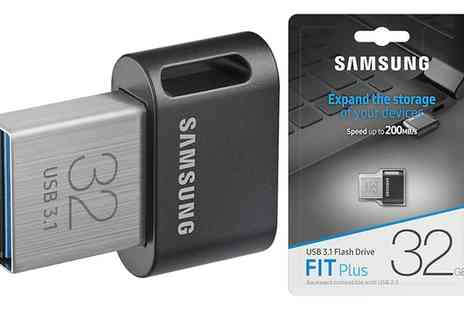 Groupon Goods Global GmbH - One or Two Samsung FIT Plus Usb 3.1 Flash Drives - Save 0%