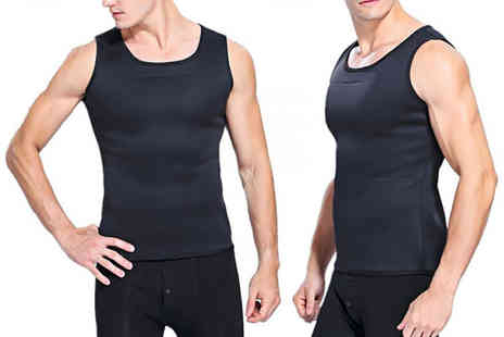 Blu Fish - Compression vest shaper choose from three sizes - Save 80%